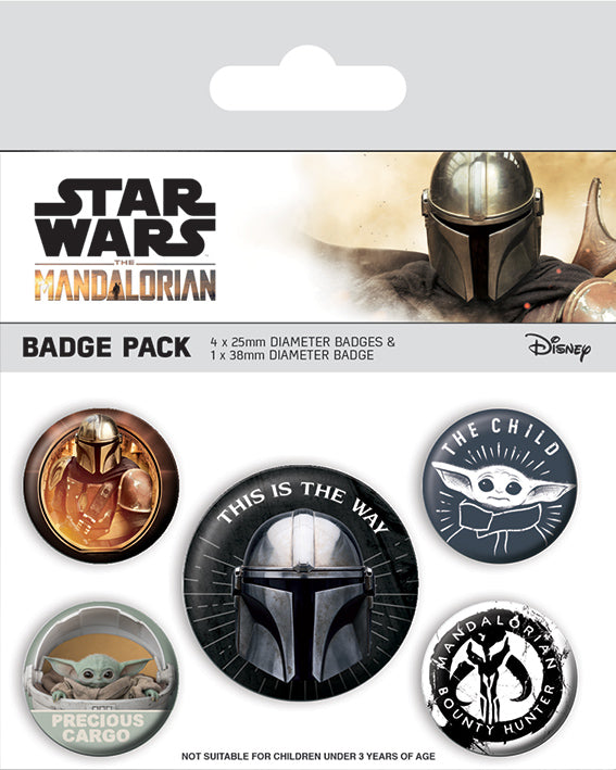 Star Wars: The Mandalorian (This Is The Way) Badge Pack