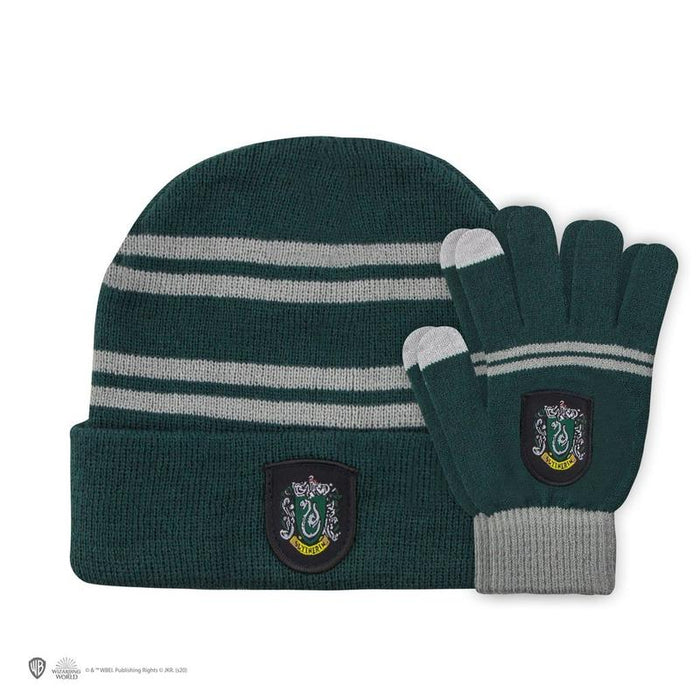 Harry Potter Beanie & Gloves Slytherin-Kids