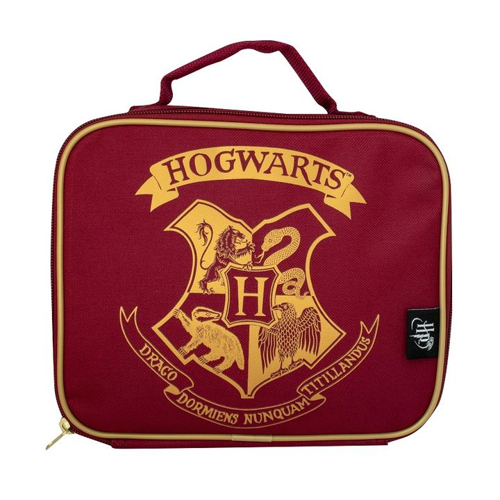 HARRY POTTER RED HOGWARTS LUNCH BAG