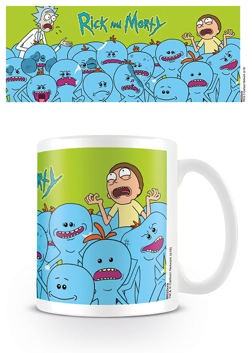 Rick and Morty (Mr. Meeseeks)  Coffee Mug