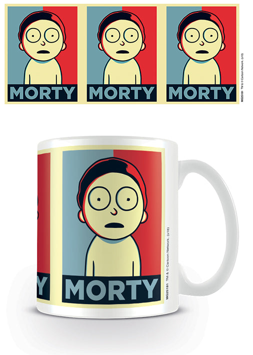 Rick and Morty (Morty Campaign)  Coffee Mug