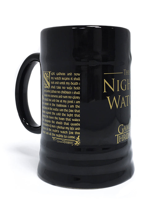 Game of Thrones (Night's Watch Oath) Ceramic Stein