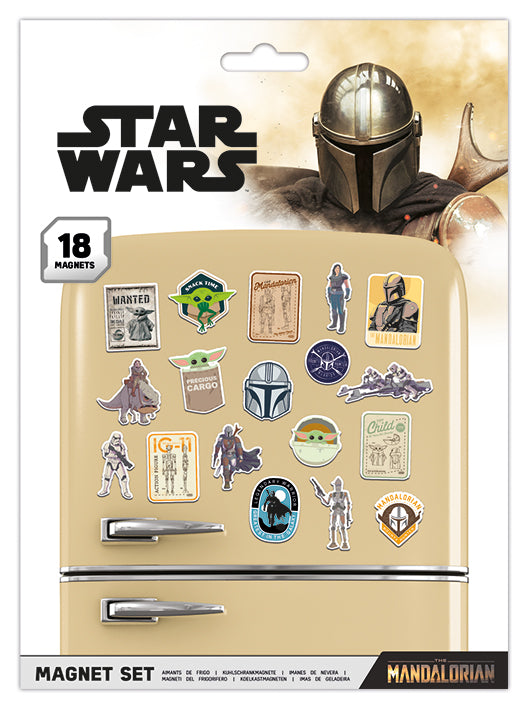 Star Wars: The Mandalorian (Bounty Hunter) Magnet Set