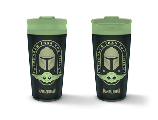 Star Wars: The Mandalorian (Stronger Than You Think) Metal Travel Mug