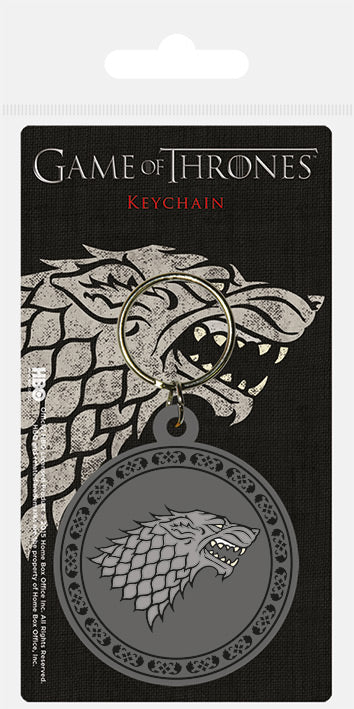 Game of Thrones (Stark) Rubber Keychain