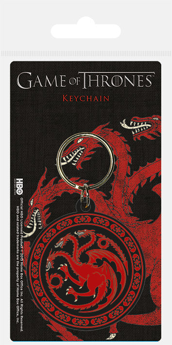 Game of Thrones (Targaryen) Rubber Keychain