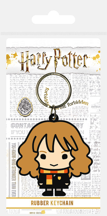 Harry Potter (Hermione Granger Chibi)  Rubber Keychain