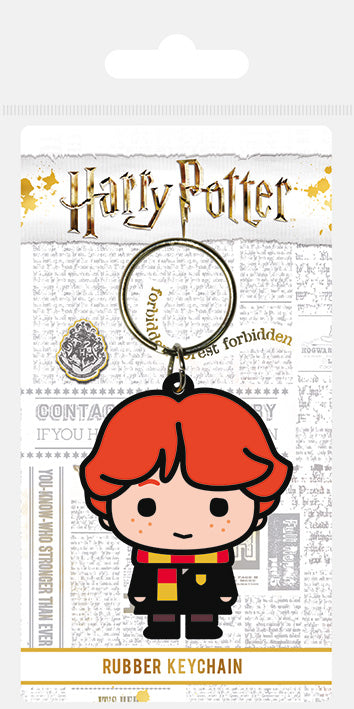 Harry Potter (Ron Weasley Chibi)  Rubber Keychain