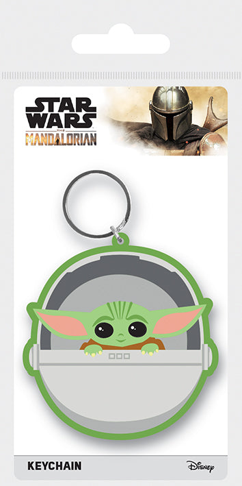 Star Wars: The Mandalorian (The Child) Rubber Keychain