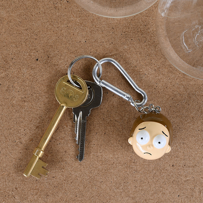 Rick And Morty (Morty)  3D Keychain