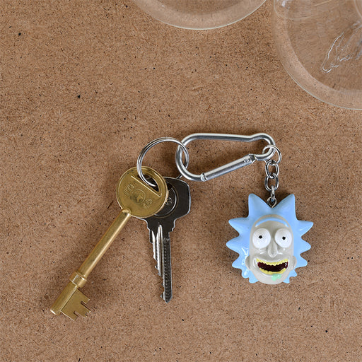 Rick and Morty (Rick)  3D Keychain