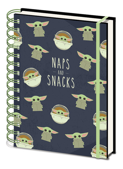 Star Wars: The Mandalorian (Naps and Snacks) A5 Wiro Notebook