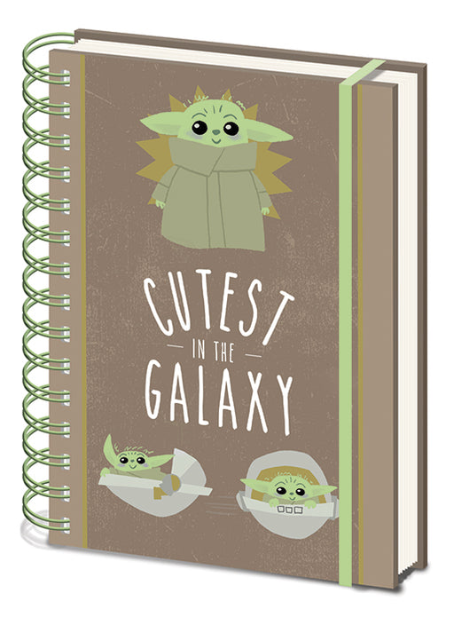 Star Wars The Mandalorian (Cutest In The Galaxy) A5 Wiro Notebook