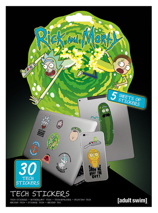 Rick and Morty (Adventures)  Tech Sticker Pack