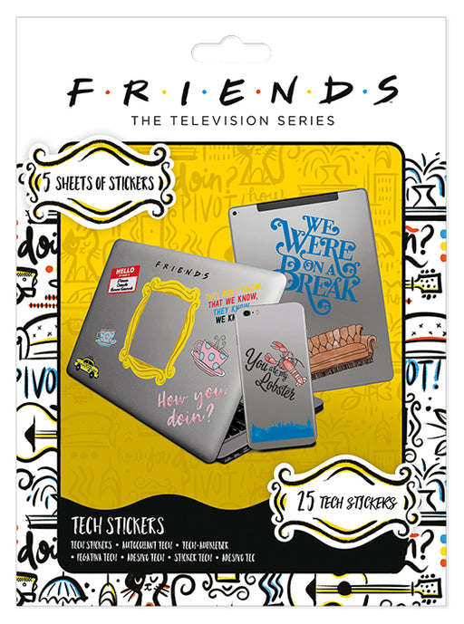 Friends (How You Doin') Tech Sticker Pack