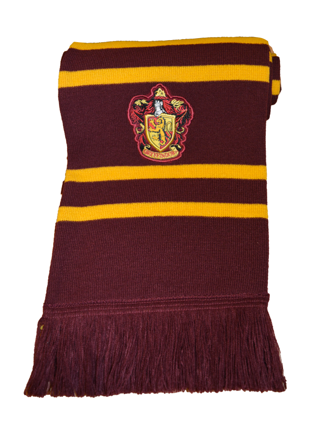 Harry Potter Embroidery Scarf Gryffindor