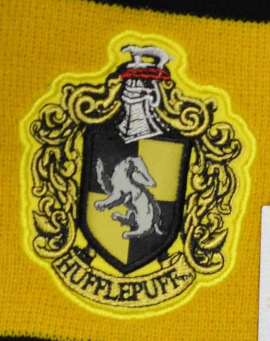 Harry Potter Embroidery Scarf Hufflepuff