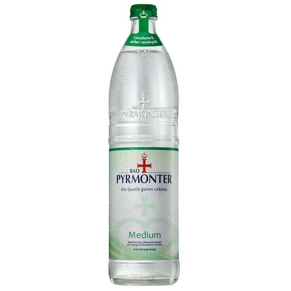 Bad Pyrmonter Medium/12 x 0.75 l – Glas
