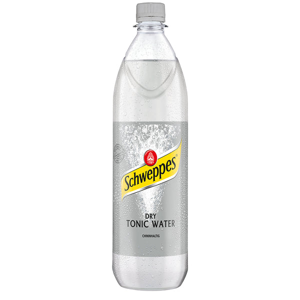 Schweppes Tonic Water / 6 x 1.0 L – PET