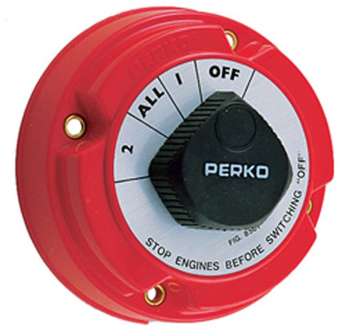 Battery Selector Switch. Perko 8501DP