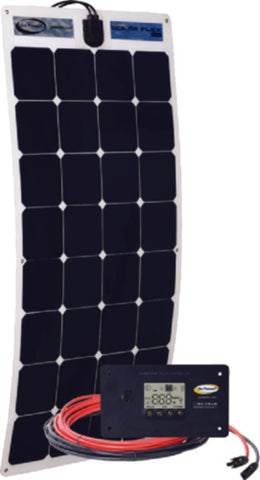 Go Power 100 watt Flexible Solar Kit