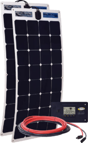 Go Power 200 watt Flexible Solar Kit