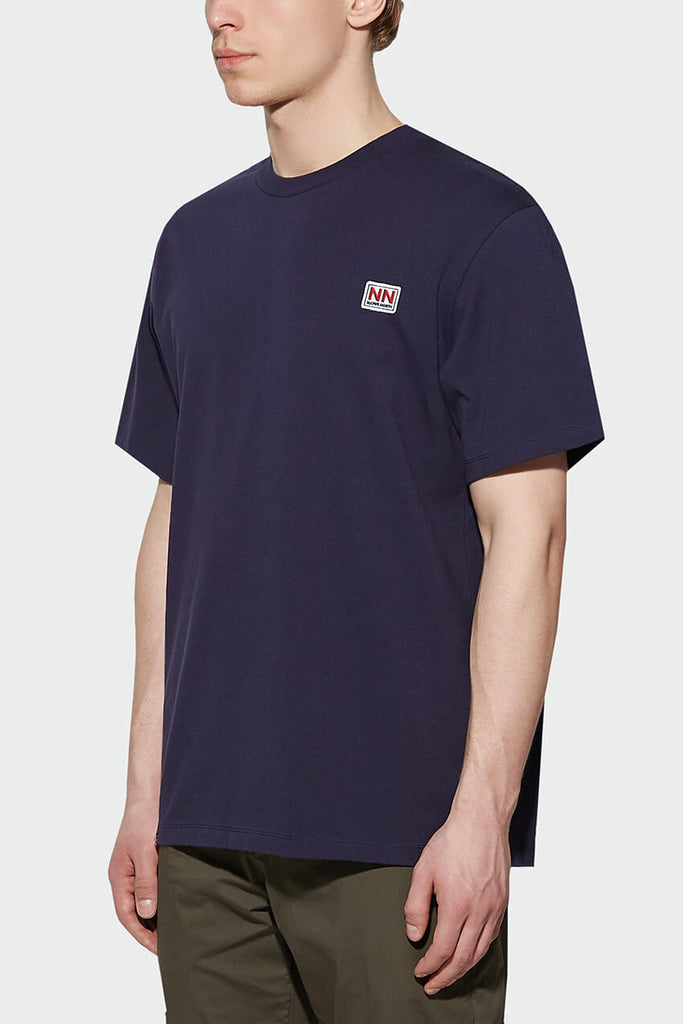 L7 Logo Tee Navy - Native North Scandinavian Design Clothing