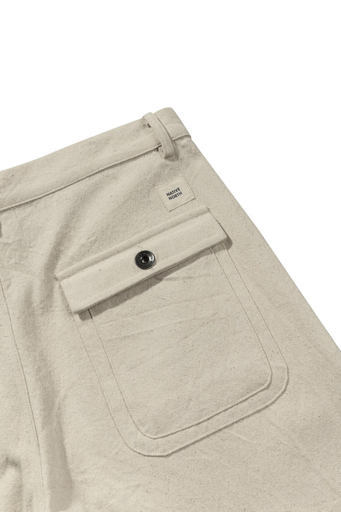 Bassa Salt & Pepper Pants (Beige) - Native North Scandinavian Design Clothing