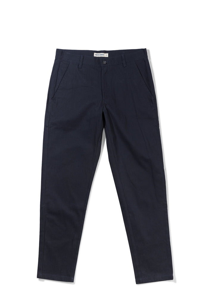 Herringbone Bassa Pants - Dark Navy - Native North