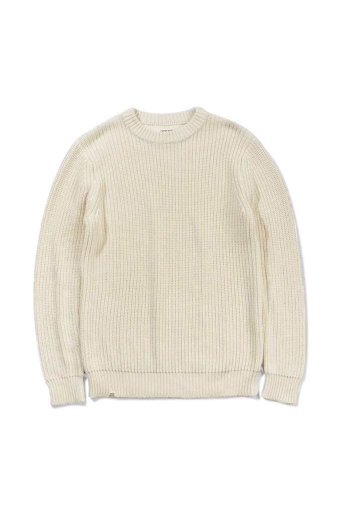 Asker Wool Knit - Off White - Native North Scandinavian Design Clothing