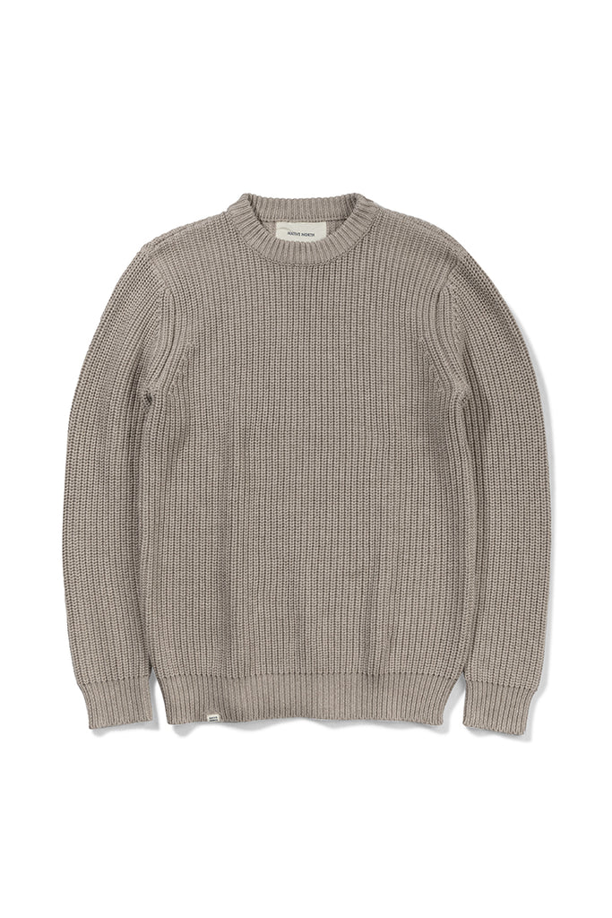 Asker Wool Knit - Camel - Native North