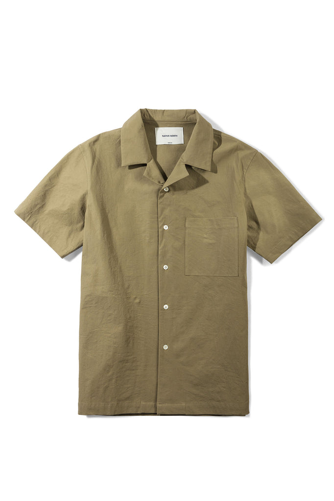 4-Way Stretch Short Sleeve - Olive - Native North