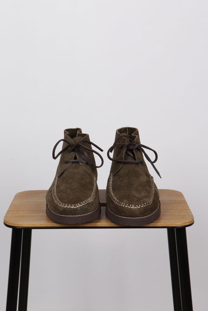 Yogi Lucas Olive Suede - Native North Scandinavian Design Clothing