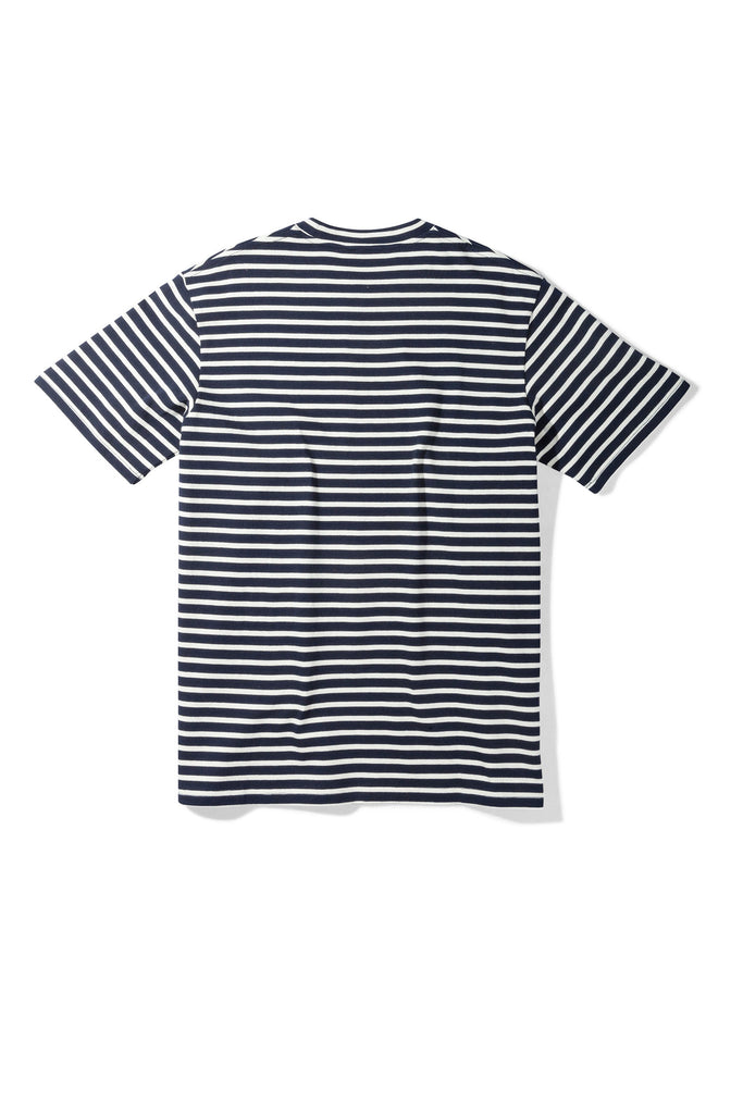 Striped Nautical Tee Navy - Native North Scandinavian Design Clothing