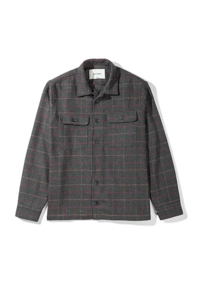 Hound Overshirt Green - Native North