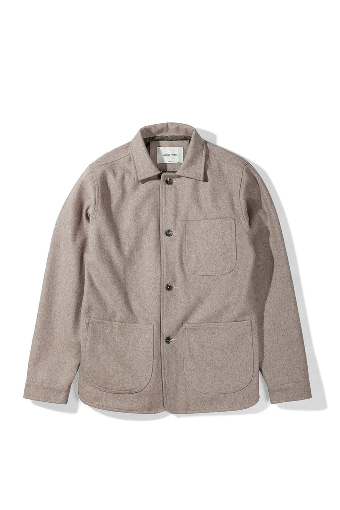 Wool Utility Jacket Dirt - Native North Scandinavian Design Clothing