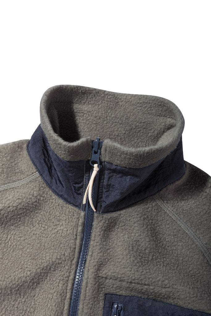 Moleskin Fleece Jacket Grey - Native North Scandinavian Design Clothing