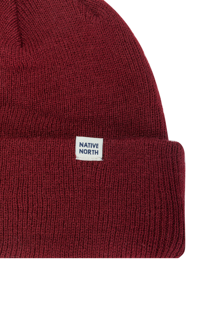 Top Beanie Bordeaux - Native North Scandinavian Design Clothing
