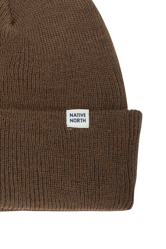 Top Beanie Brown - Native North Scandinavian Design Clothing