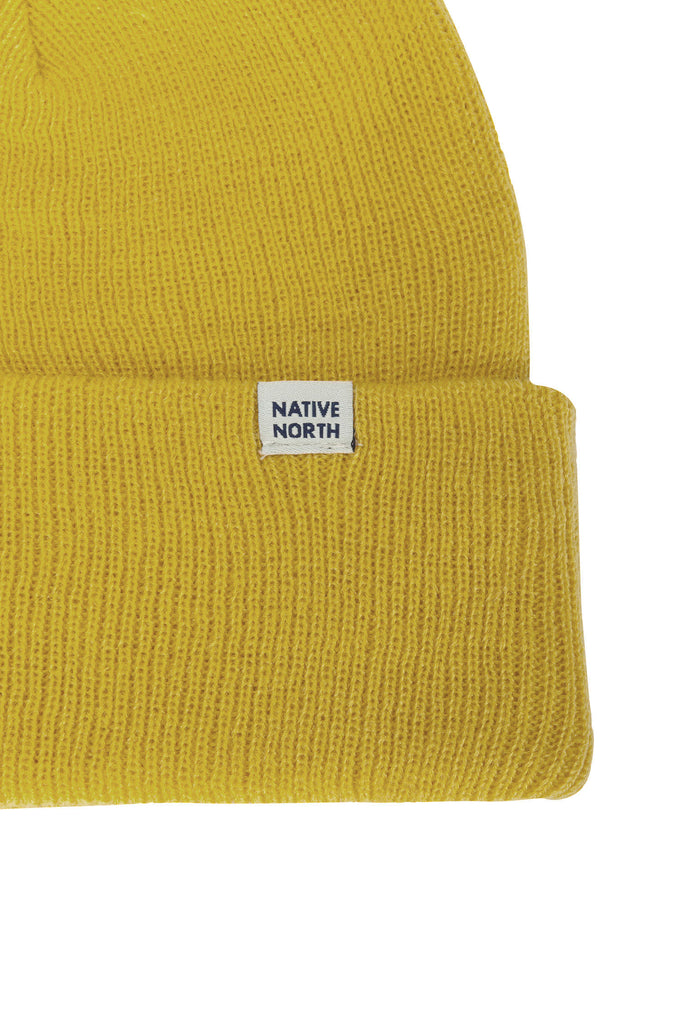 Top Beanie Yellow - Native North Scandinavian Design Clothing