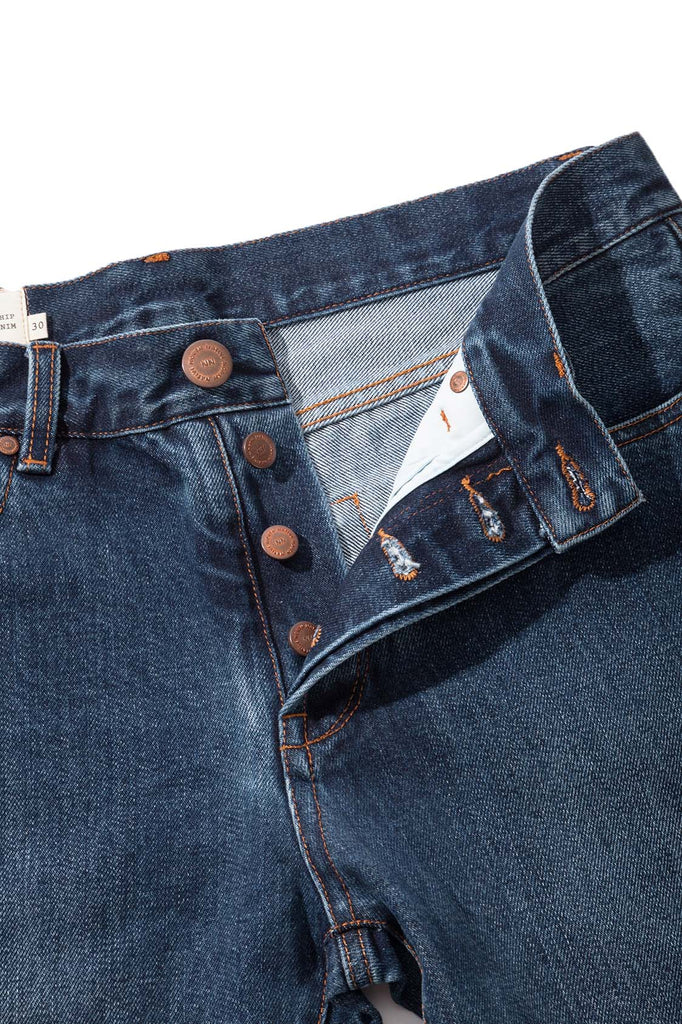 Northern Selvedge Denim - Medium Blue - Native North Scandinavian Design Clothing