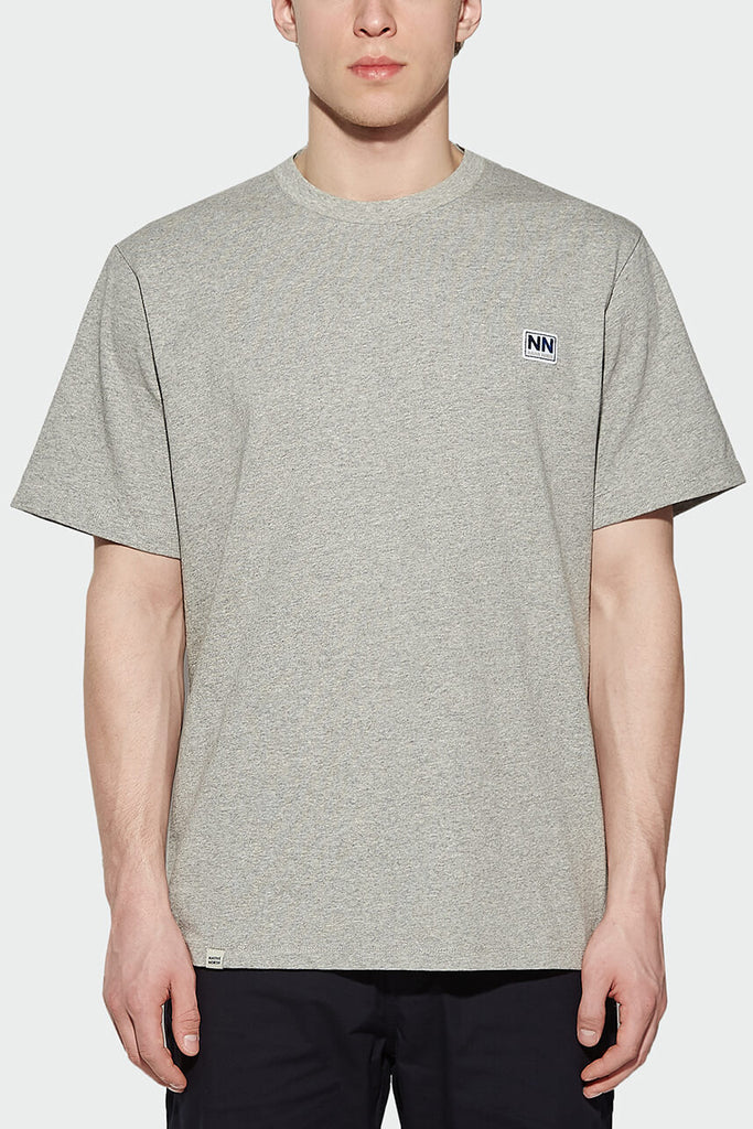 L7 Logo Tee Grey - Native North Scandinavian Design Clothing