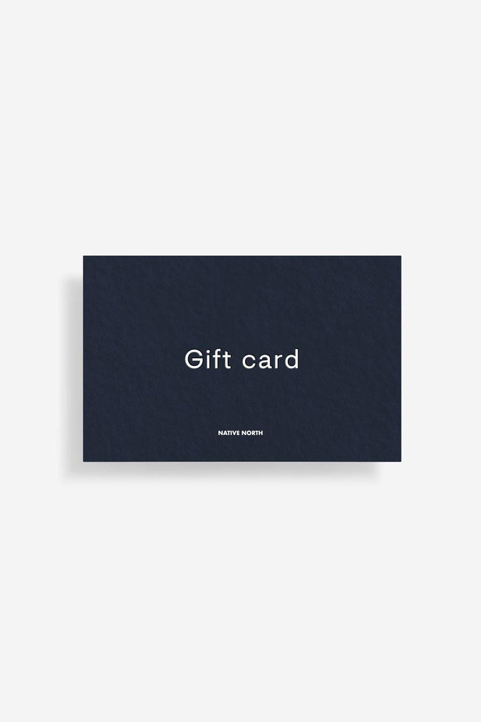 Gift Card - Native North Scandinavian Design Clothing
