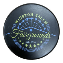 Load image into Gallery viewer, Soft Hockey Puck: Winston-Salem Fairgrounds