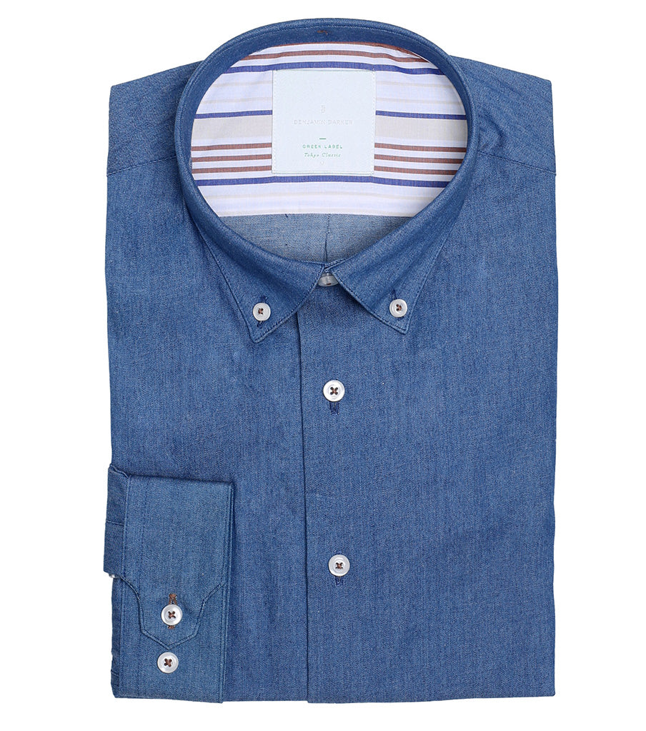 Tanner Lane Washed Chambray
