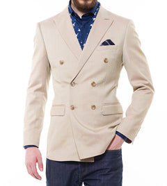 SUMMER SAND DOUBLE BREASTED BLAZER
