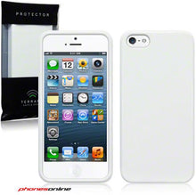 Load image into Gallery viewer, Apple iPhone 5/5S/SE Gel Case White
