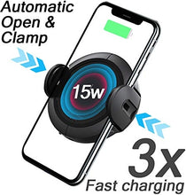 Load image into Gallery viewer, Koakuma W5 Infrared Auto Induction 15W Fast Wireless Car Charger