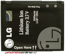 Load image into Gallery viewer, LG LGIP-580A Original Battery for LG Arena, Renoir, Viewty