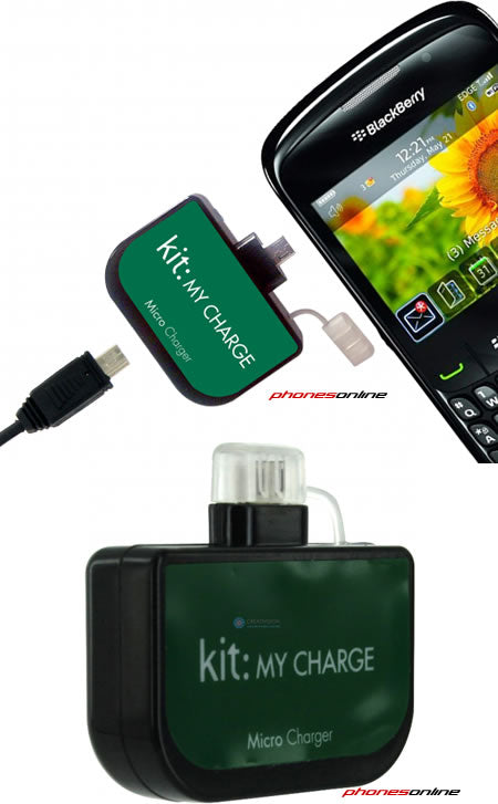 Kit My Charge Micro USB Emergency Phone Charger